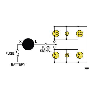 2 Prong Flasher Wiring Diagram